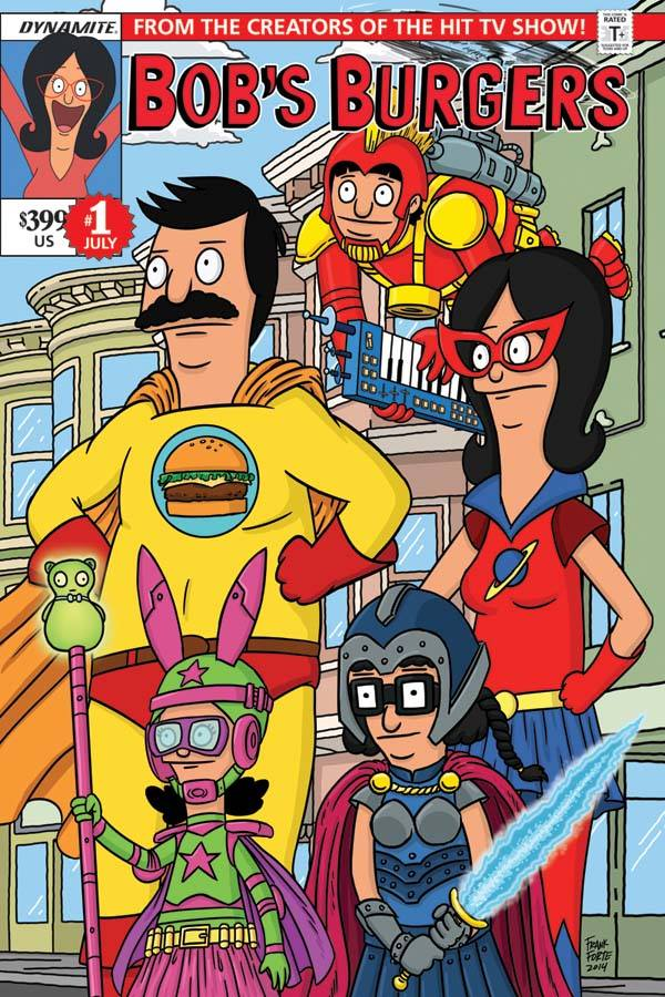 Bob's Burgers is getting its own comic book