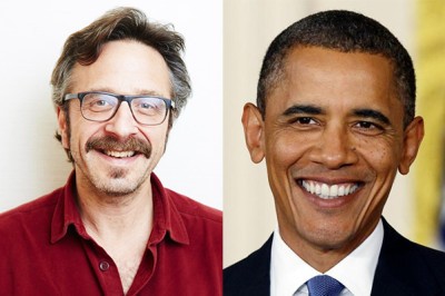 President Barack Obama is going to be the guest on Monday's ep of Marc Maron's WTF podcast