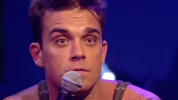 The time Robbie Williams had to follow At The Drive-In