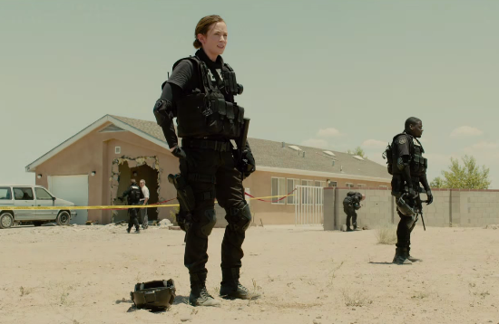 The trailer for 'Sicario' is chilling