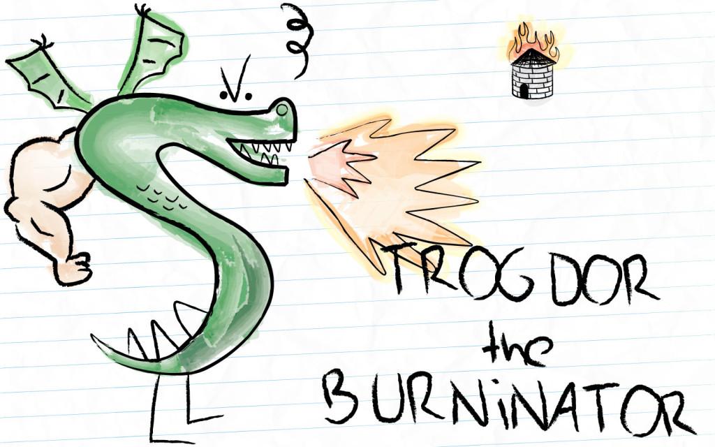 TROGDOR!!! The Homestar Runner team have new cartoon series.